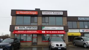 Health Yoga Big sign picture Kingston On