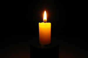 Ekagra mind - one-pointed (candle mind),